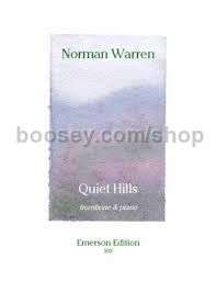 Quiet Hills for trombone & piano