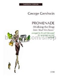 Promenade (Walking the Dog) for 5 saxophones (score & parts)