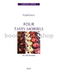Four Tasty Morsels for bassoon