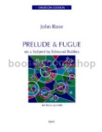 Prelude & Fugue for brass quintet