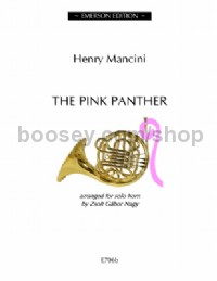 The Pink Panther for horn