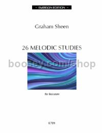 26 Melodic Studies Bassoon