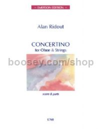 Concertino for Oboe & Strings (score)