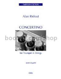 Concertino for Trumpet & Strings (score)