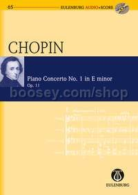 Concerto for Piano No.1 in E Minor, Op.11 (Piano & Orchestra) (Study Score)