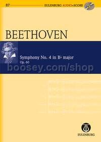 Symphony No.4 in Bb Major, Op.60 (Orchestra) (Study Score & CD)