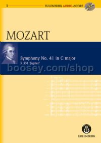 Symphony No.41 in C Major, K 551 (Orchestra) (Study Score & CD)