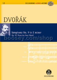 Symphony No.9 in E Minor, Op.95 (Orchestra) (Study Score & CD)