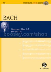Overtures Nos.1-2 (Orchestra) (Study Score & CD)