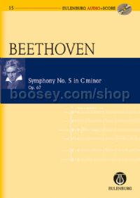 Symphony No.5 in C Minor, Op.67 (Orchestra) (Study Score & CD)