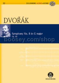 Symphony No.8 in G Major, Op.88 (Orchestra) (Study Score & CD)