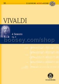 Four Seasons (Violin & Orchestra) (Study Score & CD)