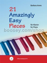 21 Amazingly Easy Pieces for piano