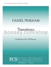 Transitions for medium voice & bassoon