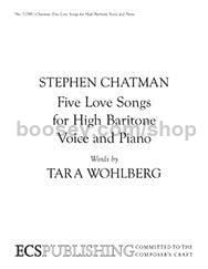 Five Love Songs for High Baritone Voice and Piano