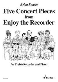 5 Concert Pieces for treble recorder & piano