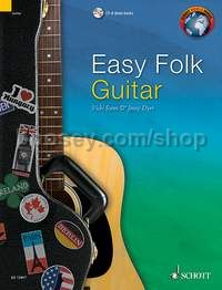 Easy Folk Guitar (+ CD)