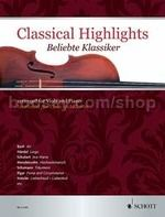Classical Highlights arranged for Viola and Piano