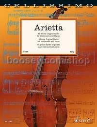 Arietta for cello & piano