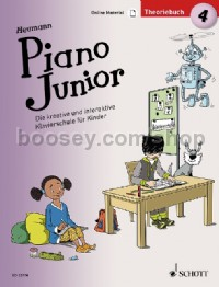 Piano Junior: Theoriebuch 4 Band 4