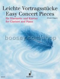 Easy Concert Pieces - clarinet & piano