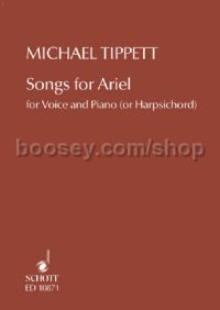 Songs For Ariel Voice & Piano