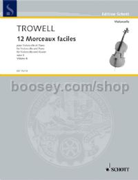 12 Morceaux Faciles Op. 4 - Book 4 (cello)