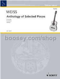 Anthology of Selected Pieces for guitar