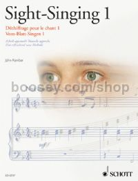 Sight-Singing Book 1 (Schott Sight-Reading series)