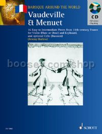 Vaudeville et Menuet (Baroque Around the World series) Book & CD