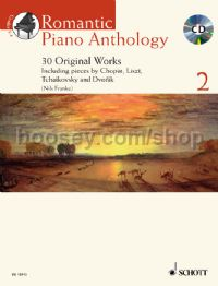 Romantic Piano Anthology 2: 30 Original Works (Book & CD)