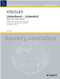 Liebesfreud/Liebeslied (arranged for wind quintet)