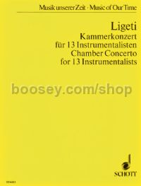 Chamber Concerto (for 13 Instruments)