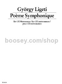 Poeme Symphonique For 100 Metronomes