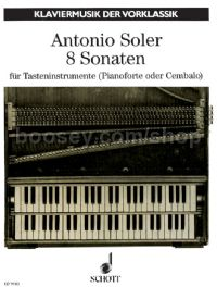 Eight Sonatas (piano/harpsichord/organ)