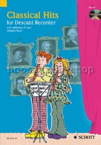 Classical Hits For Descant Recorder (Book & CD)