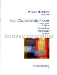 Four Characteristic Pieces for Clarinet & Piano