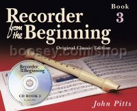 Recorder From The Beginning 3 (Book & CD)