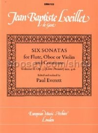 Six Sonatas, Op. 5, Vol. 2