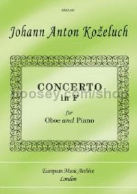 Concerto In F Major (Oboe & Piano)