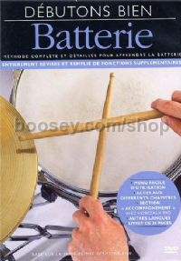 Absolute Beginners Drums Book & CD French Edition