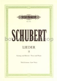 Lieder, Vol. 2: 75 Songs (Low Voice)