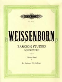 Bassoon Studies, Op. 8, Vol. 1