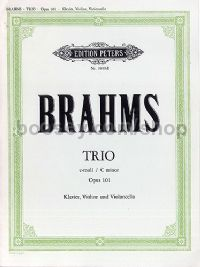 Piano Trio No.3 Cmin Op. 101: Piano Tri