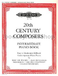 20th Century Composers Intermediate Piano