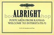 Postcard from Kansas: Welcome to Interstate-70