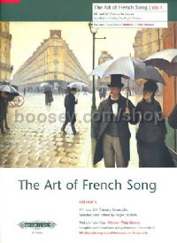 Art of French Songs Vol. 1 (Medium/Low Voice)