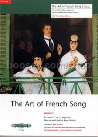 Art of French Songs Vol. 2 (High Voice)
