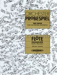 Test Pieces for Orchestral Auditions - Flute