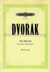 Te Deum Op.103 (Vocal Score)